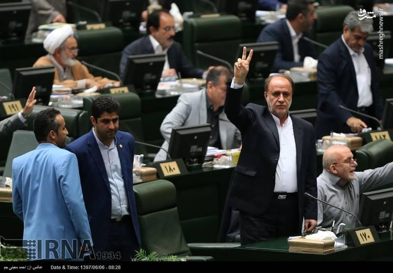جلسه سوال از روحانی در مجلس