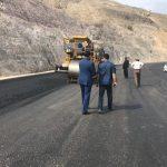 زیر سازی جاده فراشبند به فیروزآباد به اتمام رسید