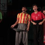 تئاتر کمدی پنج منهای یک در فراشبند به روی سن رفت