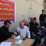 برپایی ایستگاه جهادی سلامت در مصلای جمعه فراشبند