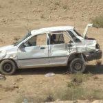 واژگونی خودروی پراید در محور فراشبند-جم با ۵مصدوم