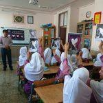 هم پیمانی دانش آموزان فراشبند برای سلامت قلب به مناسبت روز جهانی قلب