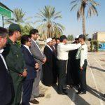 برگزاری صبحگاه مشترک ادارات، نیروهای نظامی و انتظامی همزمان با هفته نیروی انتظامی