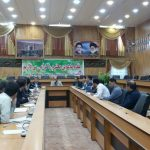 نشست شورای پدافند غیرعامل در شهرستان فراشبند برگزار شد