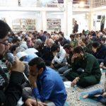 نمازگزاران جمعه در فراشبند در سوگ شهادت امام حسن عسکری (ع) گریستند