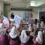 دانش آموزان مدرسه شهید علی آقایی فراشبند با انواع مسمومیت و راههای پیشگیری از آن آشنا شدند