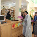 دیدار کارکنان شبکه بهداشت و درمان شهرستان فراشبند با رئیس نهاد كتابخانه های عمومی شهرستان به مناسبت هفته کتاب و کتابخوانی