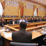 امضای تفاهم نامه اجرای بسته خدمات سلامت کارکنان دولت در شهرستان فراشبند