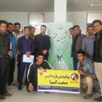 آشنایی دانشجویان دانشگاه آزاد اسلامی فراشبند با راههای ایجاد، انتقال، پیشگیری و درمان ایدز