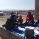 آغاز اجرای مراقبت های بهداشتی و پزشکی عشایر منطقه دولت آباد شهرستان فراشبند