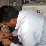 آشنایی سربازان ناحیه مقاومت بسیج سپاه فراشبند با ایدز و راههای انتقال آن
