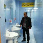 بازدید سرزده بازرس بهداشت محیط مرکز جامع سلامت شهدای فراشبند از استخر شنای شهرستان