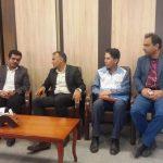 نشست هماهنگی برنامه بسیج سلامت نوروزی مسوولان بهداشت و درمان شهرستان فراشبند با دادستان شهرستان