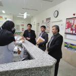 بازدید سرزده اعضای ستاد تسهیلات نوروزی شبکه بهداشت و درمان فراشبند از بیمارستان امام هادی (ع)