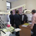 بازدید نوروزی فرماندار شهرستان فراشبند از شبکه بهداشت و درمان و مراکز ارائه خدمات بهداشتی درمانی