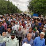 راهپیمایی مردم فراشبند در حمایت از سپاه + تصاویر