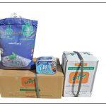 توزیع ۱۴۰ سبد غذایی هدیه مقام معظم رهبری میان مادران باردار و شیرده شهرستان فراشبند