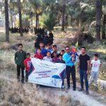 تاکید بر نقش مهم ورزش در ارتقای سلامت در همایش پیاده روی خانوادگی در روستای آویز