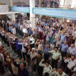 تجمع مردم مومن و روزه دارفراشبند در حمایت از بیانیه شورای عالی امنیت ملی