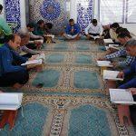 آیین جزءخوانی قرآن در مصلای نماز جمعه فراشبند
