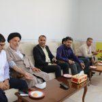 دعوت از رئیس اداره تبلیغات اسلامی فراشبند برای پیوستن به بسیج ملی کنترل فشار خون