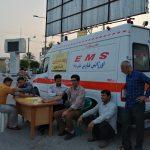 مشارکت اورژانس ۱۱۵ فراشبند در بسیج ملی کنترل ملی فشارخون