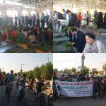 همایش دوچرخه سواری همزمان با آغاز هفته دولت در فراشبند