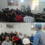 برگزاری کارگاه آموزشی قانون کار و تامین اجتماعی ویژه اصناف شهرستان فراشبند