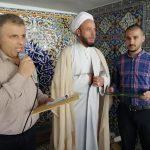 تجلیل امام جمعه فراشبند از خبرنگار خبرگزاری نخل بیدار به مناسبت روز خبرنگار