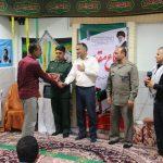 برگزاری آیین تجلیل از رزمندگان دفاع مقدس در شبکه بهداشت و درمان شهرستان فراشبند