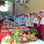 برگزاری جشنواره غذای سالم به مناسبت روز جهانی غذا در مدرسه شهید «علی آقایی» فراشبند