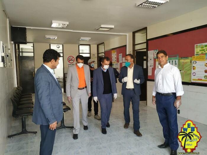 بازدید سرزده نماینده منتخب مردم شهرستان های فیروزآباد، قیر و کارزین و فراشبند از مجموعه سلامت فراشبند