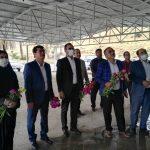 تجدید میثاق جامعه کارگری شهرستان فراشبند با آرمان های شهدا به مناسبت هفته کارگر