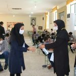 نظارت بهداشتی بر نحوه برگزاری امتحانات و خوابگاه شبانه روزی مدارس فراشبند