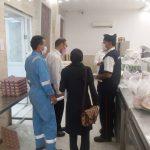 بازدید از پالایشگاه گاز شهرستان فراشبند در راستای بررسی اقدامات پیشگیرانه از کرونا