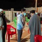 نظارت بهداشتی بر فعالیت هیئت های مذهبی فراشبند