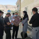بازدید بازرس ویژه استانداری فارس از مرکز ۱۶ ساعته منتخب کووید۱۹ فراشبند