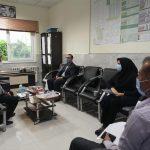 بازدید کارشناس ناظر دانشگاه علوم پزشکی شیراز از روند توزیع و تزریق واکسن آنفلوانزا در فراشبند