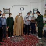 تجلیل از دو بسیجی فعال عرصه اردوهای جهادی در فراشبند