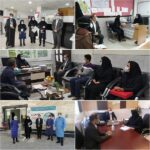 بازدید کارشناس ناظر معاونت بهداشتی دانشگاه از عملکرد شبکه بهداشت و درمان فراشبند در اجرای طرح شهید سلیمانی