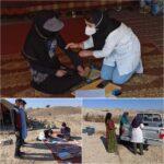 آغاز مراقبتهای بهداشتی از عشایر در دولت آباد شهرستان فراشبند