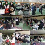 مشق ایثار مردم فراشبند با نذر ۱۱۰ هزار سی سی خون برای نیازمندان