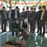 تجدید میثاق با اولین شهید انقلاب شهرستان فراشبند