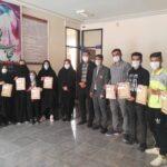 نفرات برتر مسابقه آمادگی جسمانی ویژه کارگران و خانواده ایشان در شهرستان فراشبند مشخص شدند