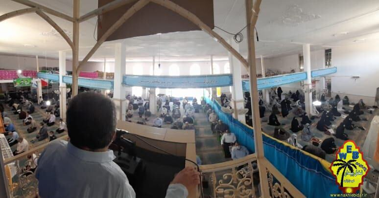 ندای عدالت خواهی مردم شهرستان فراشبند در روز قدس+تصاویر