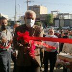آیین افتتاح ستاد مرکزی آیت الله رئیسی در شهرستان فراشبند +تصاویر