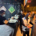 نظارت بازرسان بهداشت محیط فراشبند بر موکب های اربعین حسینی