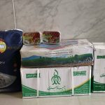 توزیع ۱۴۰ سبد غذایی بنیاد علوی هدیه مقام معظم رهبری در بین مادران باردار و شیرده در فراشبند