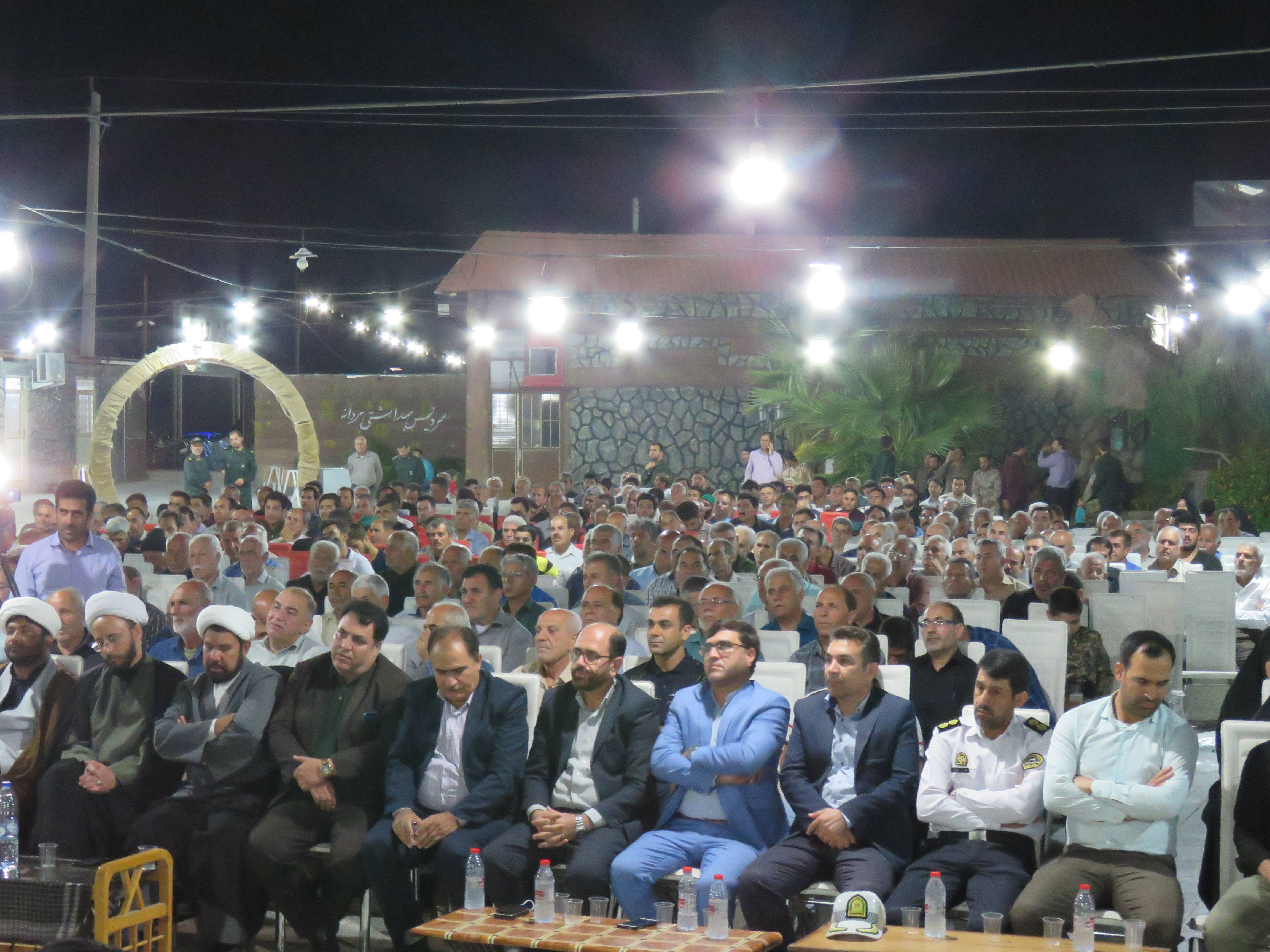 همایش بزرگ نکوداشت رزمندگان هشت سال دفاع مقدس در فراشبند برگزار شد+تصاویر