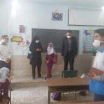 تاکید بر ضرورت رعایت موازین بهداشتی و استفاده از ماسک در بازدید از مدارس فراشبند